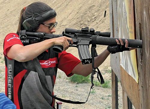 Basic Rifle Shooting class